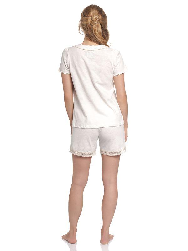 Vive Maria Blanc De Blanc Short Pyjama white – Bild 2