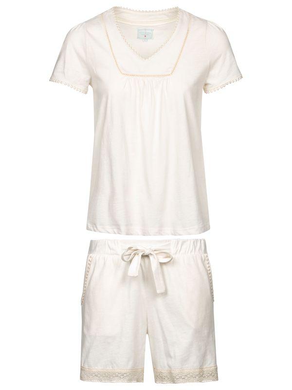 Vive Maria Blanc De Blanc Short Pyjama white – Bild 0