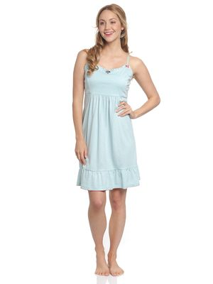 Vive Maria Bonbon Sucrée Nightdress lightblue allover – Bild 1