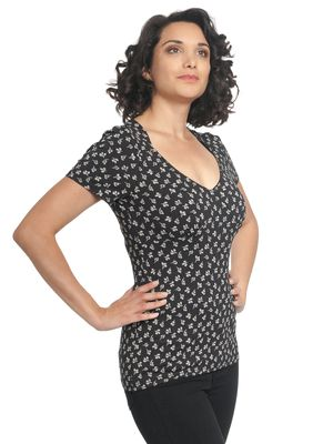 Vive Maria Rendez-Vous Shirt black allover – Bild 3