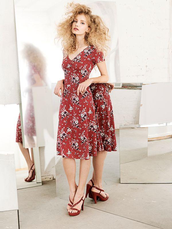 Vive Maria Mon Amour Dress red allover – Bild 5