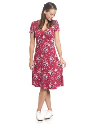 Vive Maria Mon Amour Dress red allover – Bild 1