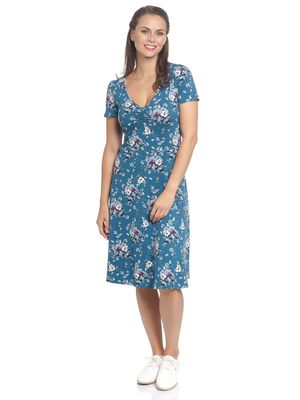 Vive Maria Mon Amour Dress blue allover – Bild 1