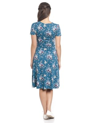 Vive Maria Mon Amour Dress blue allover – Bild 2