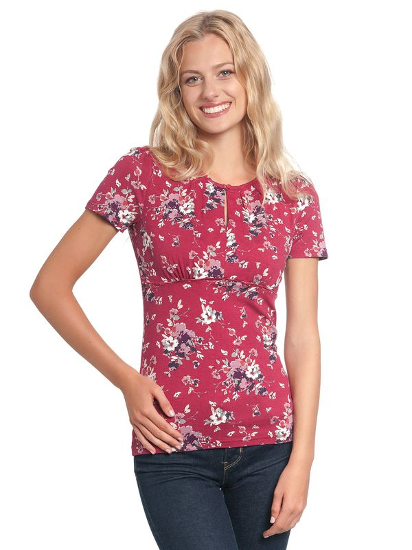 Vive Maria Mon Amour Shirt red allover – Bild 1
