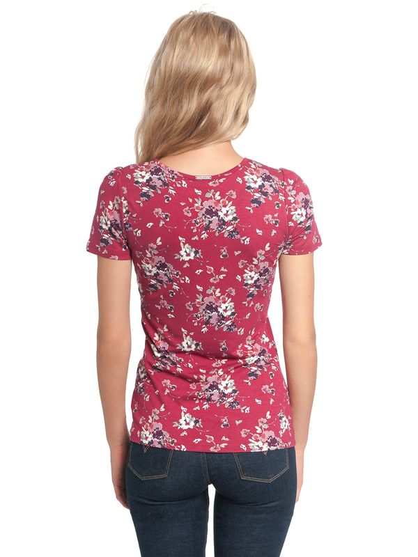 Vive Maria Mon Amour Shirt red allover – Bild 2