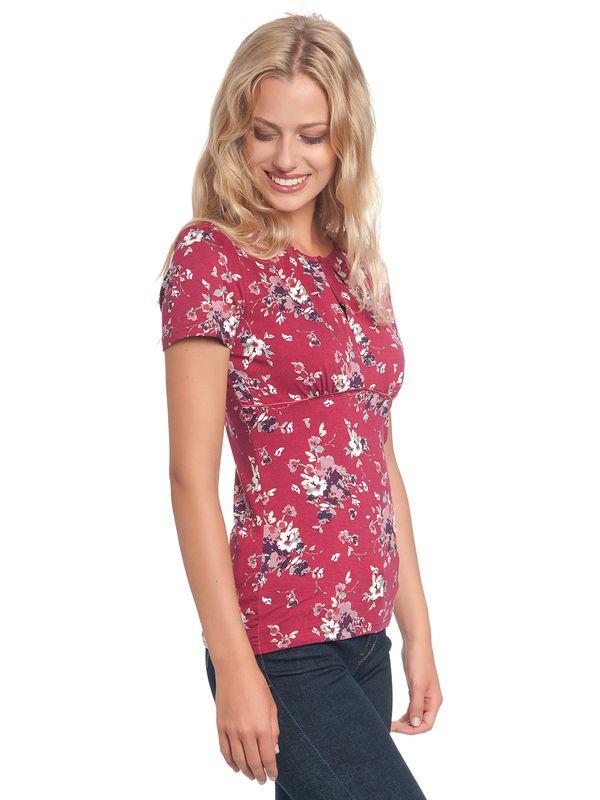 Vive Maria Mon Amour Shirt red allover – Bild 3
