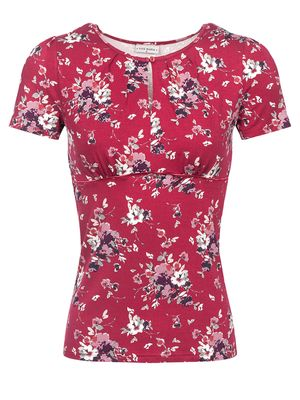 Vive Maria Mon Amour Shirt red allover – Bild 0
