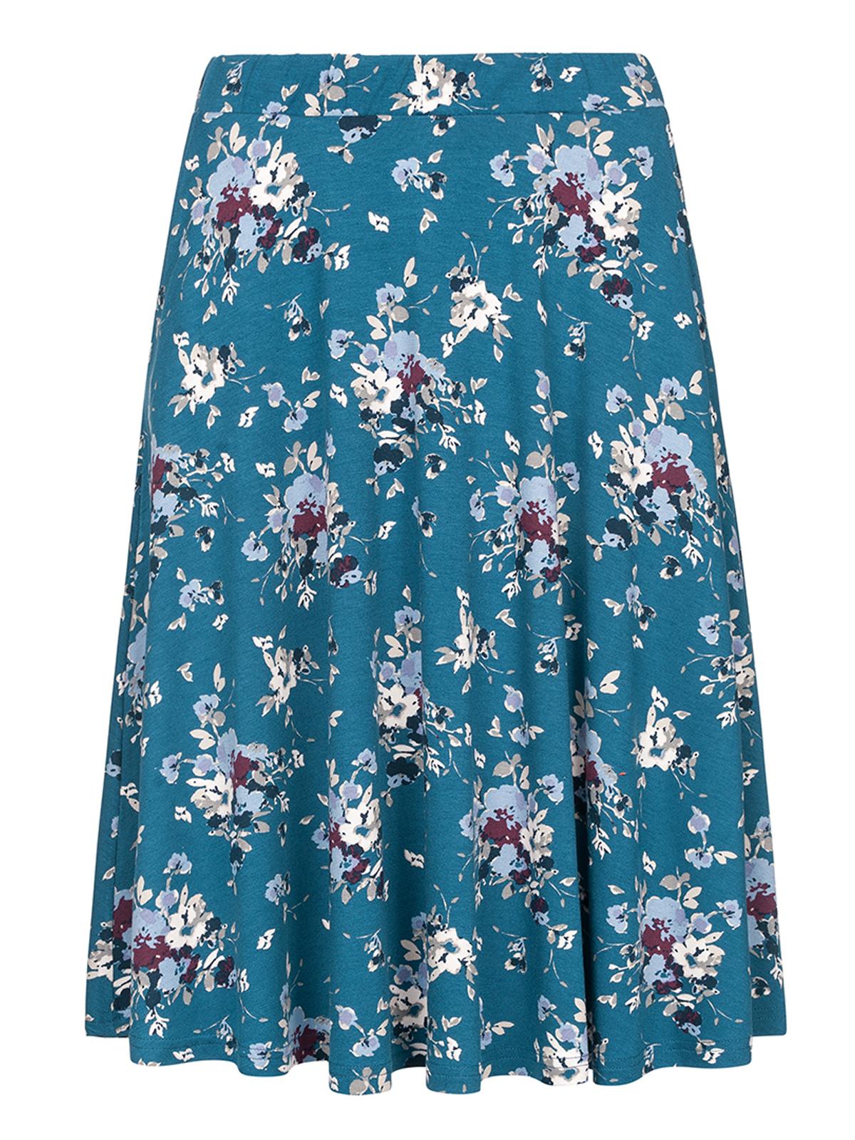 Roecke - Vive Maria Mon Amour Skirt blue allover – Größe S  - Onlineshop NAPO Shop
