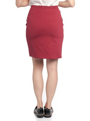 Vive Maria Gamine Sweat Skirt red – Bild 2