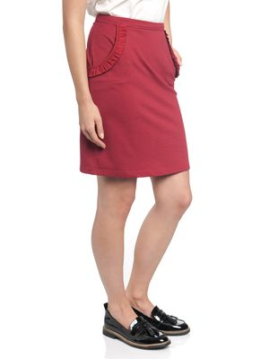 Vive Maria Gamine Sweat Skirt red – Bild 3