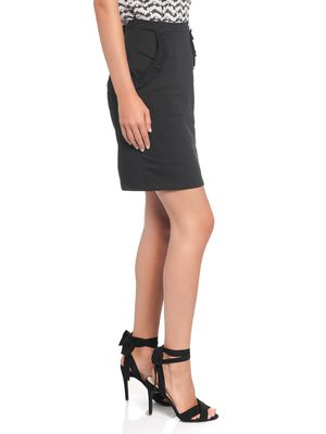 Vive Maria Gamine Sweat Skirt black – Bild 3