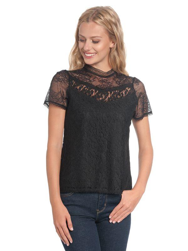 Vive Maria Dis Oui Shirt black – Bild 1