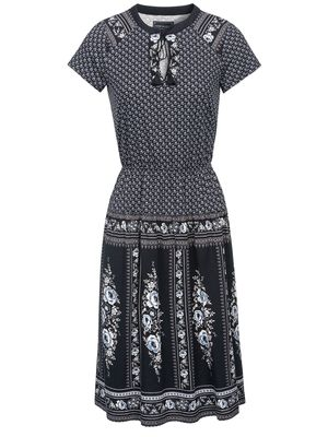 Vive Maria La Gitane Dress blue allover – Bild 0