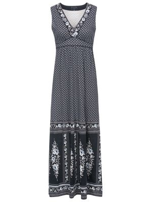 Vive Maria La Gitane Blue Maxi Dress blue allover – Bild 0