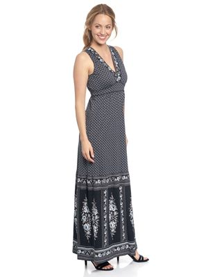 Vive Maria La Gitane Blue Maxi Dress blue allover – Bild 3