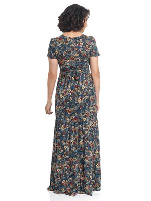 Vive Maria Jardin De Reve Maxi Dress black allover – Bild 2