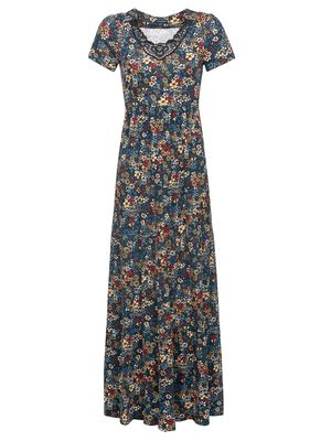 Vive Maria Jardin De Reve Maxi Dress black allover – Bild 0