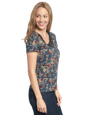 Vive Maria Jardin D'Amour Shirt black allover – Bild 3