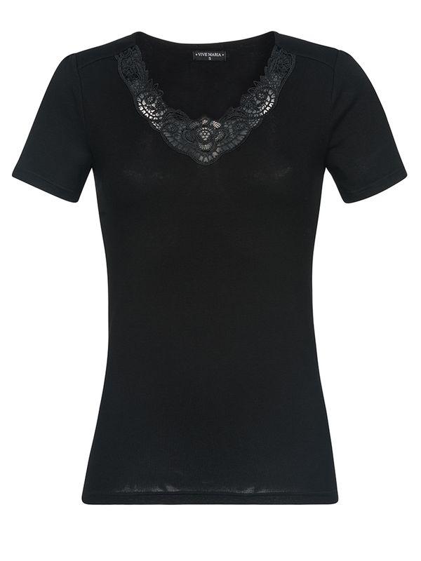 Vive Maria Jardin Noir Shirt black Ansicht