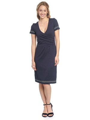 Vive Maria Deauville Wrapdress blue allover – Bild 1