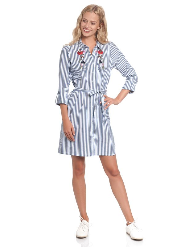 Vive Maria Voyage Dress blue/white – Bild 1