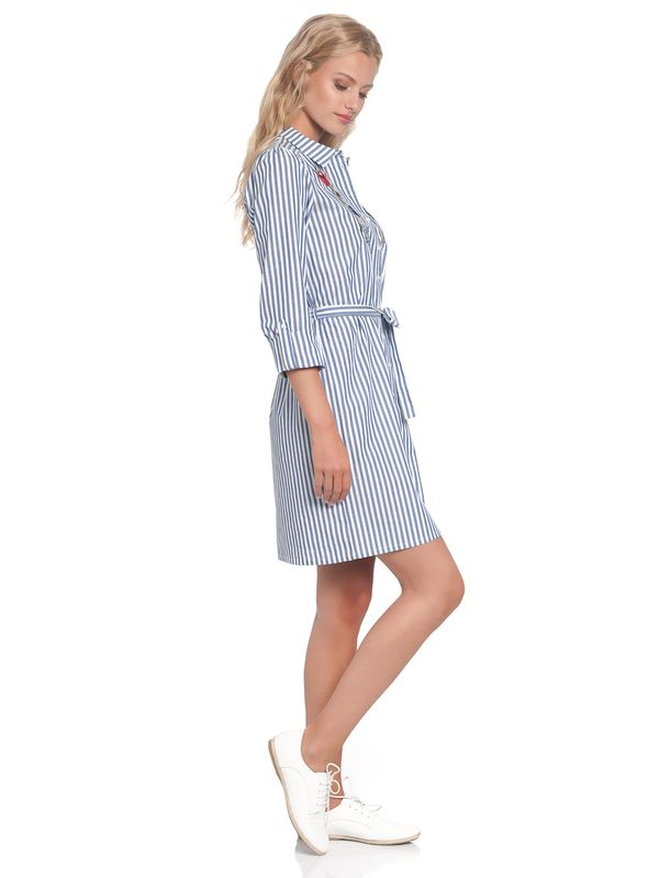 Vive Maria Voyage Dress blue/white – Bild 4