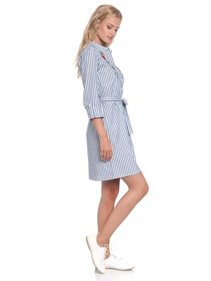 Vive Maria Voyage Dress blue/white – Bild 3