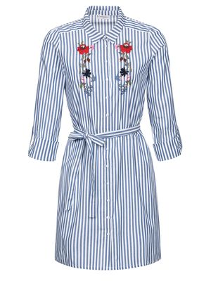 Vive Maria Voyage Dress blue/white – Bild 0