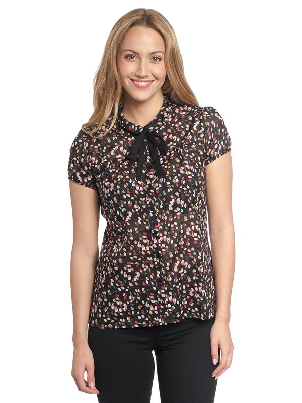 Vive Maria La Tulipe Douce Blouse black allover – Bild 1