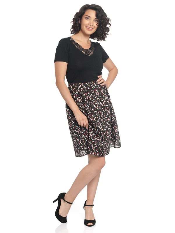 Vive Maria La Tulipe Douce Skirt black allover – Bild 5