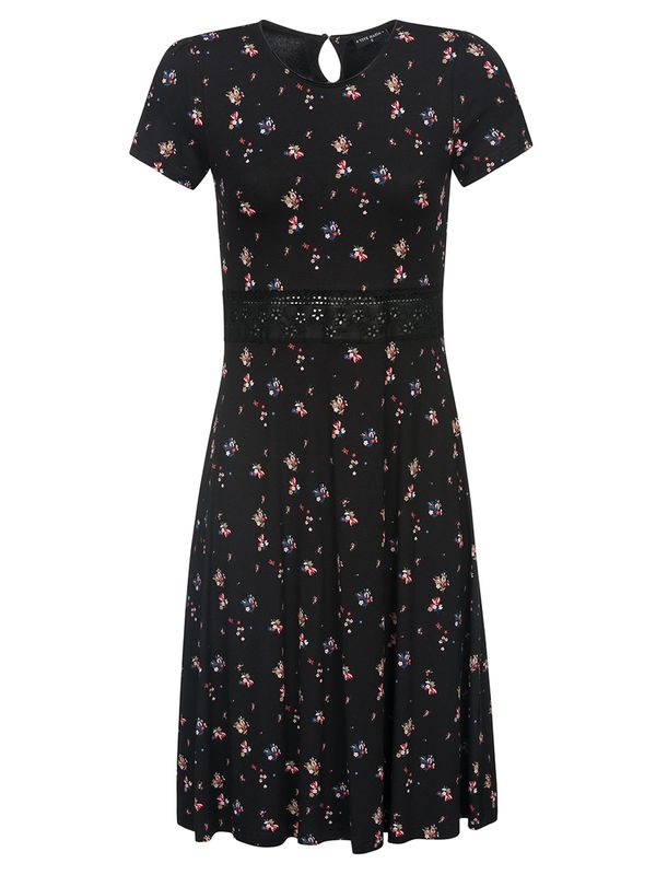 Vive Maria Blooming City Dress black allover Ansicht