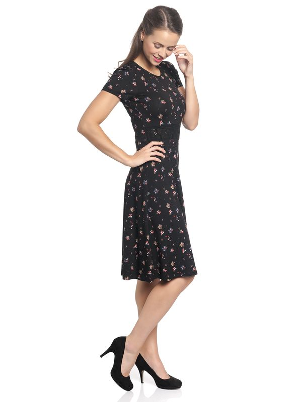 Vive Maria Blooming City Dress black allover – Bild 3