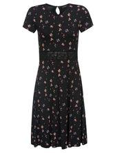 Vive Maria Blooming City Dress black allover – Bild 0