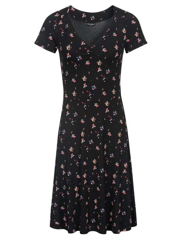 Vive Maria Blooming Retro Dress black allover – Bild 0