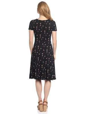 Vive Maria Blooming Retro Dress black allover – Bild 2