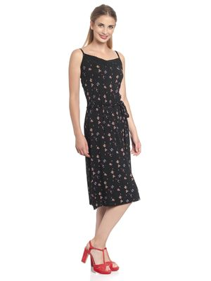 Vive Maria Blooming Girl Dress black allover – Bild 3