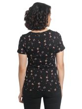 Vive Maria Blooming Day Shirt black allover – Bild 2