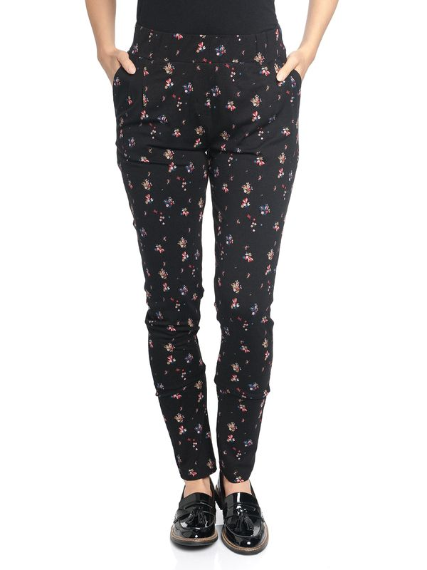 Vive Maria Blooming Day Pants black allover – Bild 1