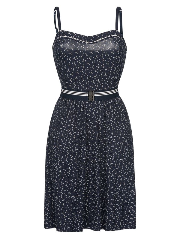 Vive Maria Sea Girl Dress blue allover – Bild 0
