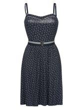 Vive Maria Sea Girl Dress blue allover – Bild 0