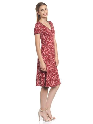 Vive Maria Lovely Holiday Dress red allover – Bild 3
