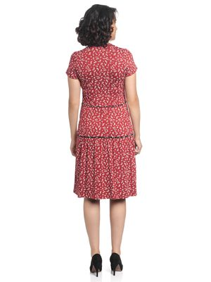Vive Maria Holiday Dream Dress red allover – Bild 2