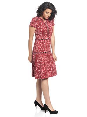 Vive Maria Holiday Dream Dress red allover – Bild 3