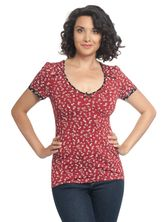 Vive Maria Holiday Girl Shirt red allover – Bild 1