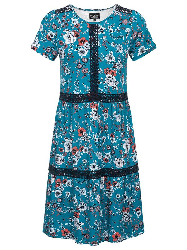 Vive Maria Flower Girl Dress  azure allover Ansicht
