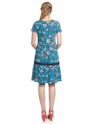 Vive Maria Flower Girl Dress  azure allover – Bild 2