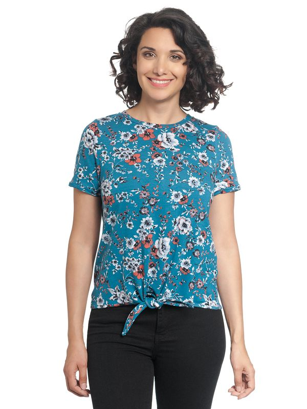 Vive Maria Flower Day Tee azure allover – Bild 1
