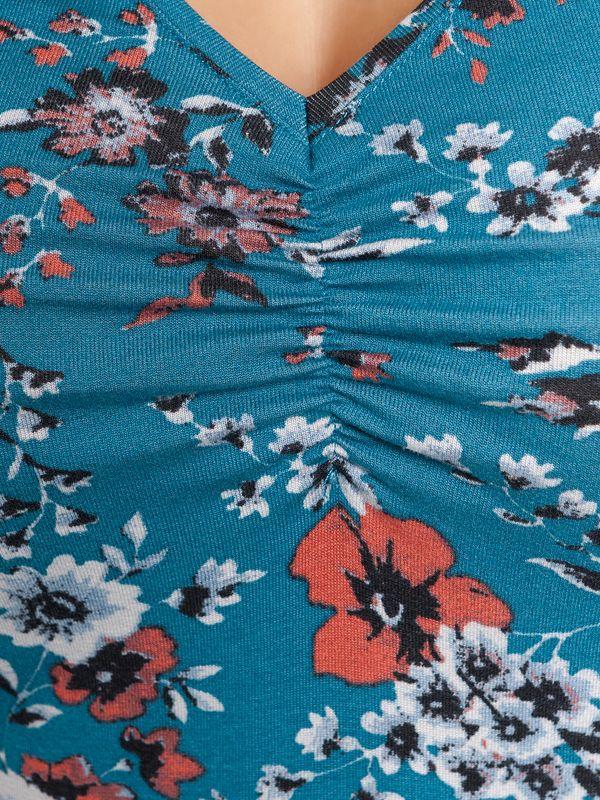 Vive Maria Flower Dream Shirt  azure allover – Bild 6