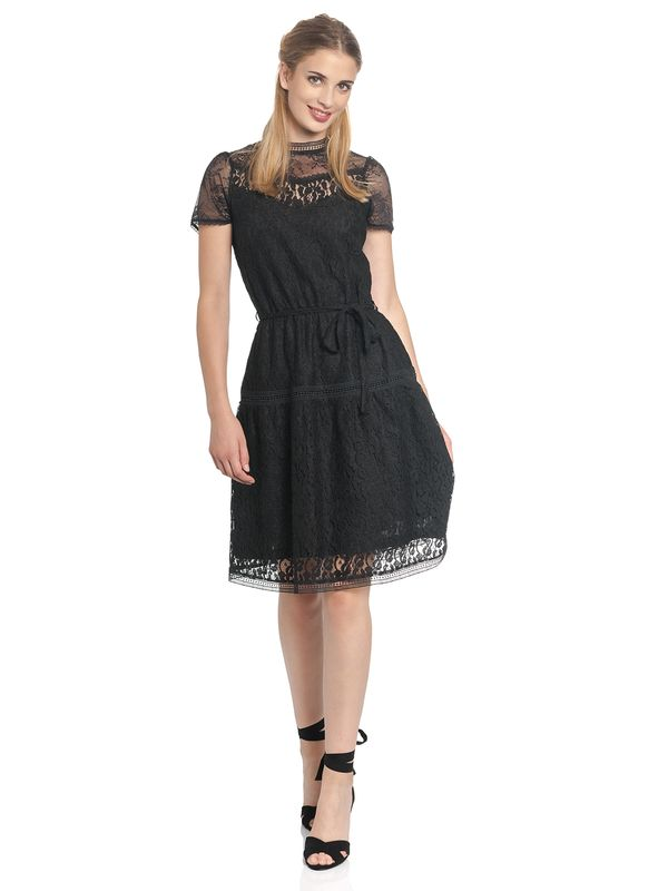 Vive Maria Dis Oui Short Dress black – Bild 1
